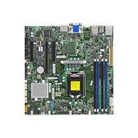 SUPERMICRO X11SSZ-F - Motherboard - micro ATX - LGA1151 Socket - C236 - USB 3.0 - 2 x Gigabit LAN - onboard graphics - HD Audio