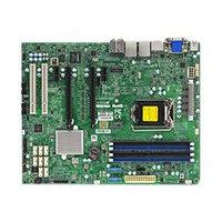 SUPERMICRO X11SAE-F - Motherboard - ATX - LGA1151 Socket - C236 - USB 3.0, USB 3.1 - 2 x Gigabit LAN - onboard graphics - HD Audio (8-channel)