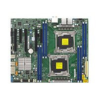 SUPERMICRO X10DAL-i - Motherboard - ATX - LGA2011-v3 Socket - 2 CPUs supported - C612 - USB 3.0 - 2 x Gigabit LAN - HD Audio (8-channel)