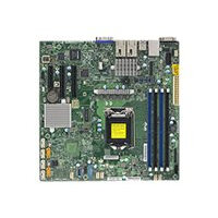 SUPERMICRO X11SSH-TF - Motherboard - micro ATX - LGA1151 Socket - C236 - USB 3.0 - 2 x 10 Gigabit LAN - onboard graphics