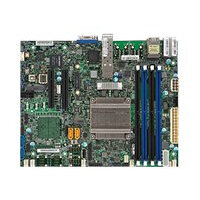 SUPERMICRO X10SDV-2C-TP4F - Motherboard - FlexATX - Intel Pentium D1508 - USB 3.0 - 2 x 10 Gigabit LAN, 2 x Gigabit LAN - onboard graphics - for SC504 203B; SC505 203B; SC514 505