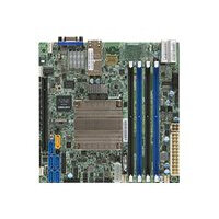 SUPERMICRO X10SDV-2C-TLN2F - Motherboard - mini ITX - Intel Pentium D1508 - USB 3.0 - 2 x 10 Gigabit LAN - onboard graphics - for SC504 203B; SC505 203B