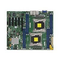 SUPERMICRO X10DRL-LN4 - Motherboard - ATX - LGA2011-v3 Socket - 2 CPUs supported - C612 - USB 3.0 - 4 x Gigabit LAN - onboard graphics