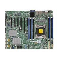 SUPERMICRO X10SRH-CF - Motherboard - ATX - LGA2011-v3 Socket - C612 - USB 3.0 - 2 x Gigabit LAN - onboard graphics - for SC213; SC732; SC743; SC823; SC826; SC833; SC842