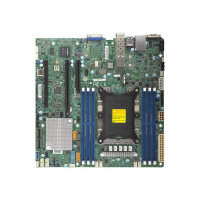SUPERMICRO X11SPM-TPF - Motherboard - micro ATX - Socket P - C622 - USB 3.0 - 2 x 10 Gigabit LAN - onboard graphics