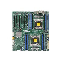 SUPERMICRO X10DAX - Motherboard - extended ATX - LGA2011-v3 Socket - 2 CPUs supported - C612 - USB 3.0 - 2 x Gigabit LAN - HD Audio (8-channel) - for SC213; SC732; SC743; SC745; SC747; SC826; SC835; SC836; SC846