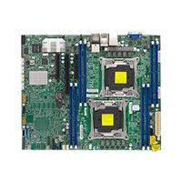 SUPERMICRO X10DRL-iT - Motherboard - ATX - LGA2011-v3 Socket - 2 CPUs supported - C612 - USB 3.0 - 2 x 10 Gigabit LAN, 2 x Gigabit LAN - onboard graphics