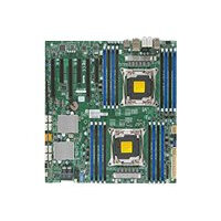 SUPERMICRO X10DAC - Motherboard - extended ATX - LGA2011-v3 Socket - 2 CPUs supported - C612 - USB 3.0 - 2 x Gigabit LAN - HD Audio (8-channel) - for SC732; SC743; SC745; SC747; SC826; SC835; SC836; SC846