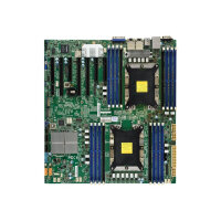 SUPERMICRO X11DPH-I - Motherboard - extended ATX - Socket P - 2 CPUs supported - C621 - USB 3.0 - 2 x Gigabit LAN - onboard graphics - for SC216 BE1C4-R1K23LPB; SC826 BE1C4-R1K23LPB; SC829 HE1C4-R1K62LPB