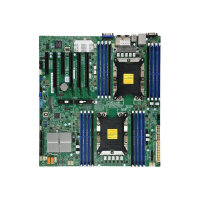 SUPERMICRO X11DPI-NT - Motherboard - extended ATX - Socket P - 2 CPUs supported - C622 - USB 3.0 - 2 x 10 Gigabit LAN - onboard graphics