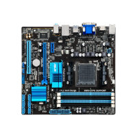 ASUS M5A78L-M PLUS/USB3 - Motherboard - micro ATX - Socket AM3+ - AMD 760G - USB 3.0 - Gigabit LAN - onboard graphics - HD Audio (8-channel)