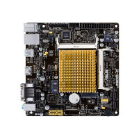 ASUS J1800I-C - Motherboard - mini ITX - Intel Celeron J1800 - USB 3.0 - Gigabit LAN - onboard graphics - HD Audio (8-channel)