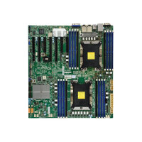 SUPERMICRO X11DPH-TQ - Motherboard - extended ATX - Socket P - 2 CPUs supported - C628 - USB 3.0 - 2 x 10 Gigabit LAN - onboard graphics