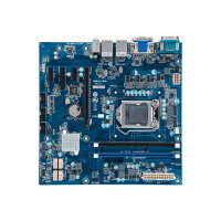 Gigabyte MDH11BM - 1.0 - motherboard - micro ATX - LGA1151 Socket - H110 - USB 3.0 - 2 x Gigabit LAN - onboard graphics (CPU required) - HD Audio