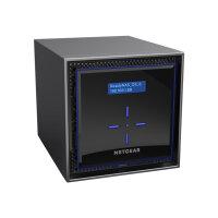 NETGEAR ReadyNAS 424 - NAS server - 4 bays - 8 TB - SATA 6Gb/s - HDD 2 TB x 4 - RAID 0, 1, 5, 6, 10, JBOD - RAM 2 GB - Gigabit Ethernet - iSCSI