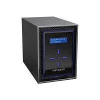 NETGEAR ReadyNAS 422 - NAS server - 2 bays - RAID 0, 1, 5, 6, 10, JBOD - RAM 2 GB - Gigabit Ethernet - iSCSI
