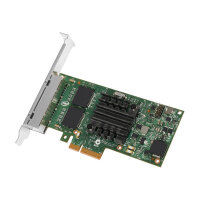 Intel Ethernet Server Adapter I350-T4 - Network adapter - PCIe 2.1 x4 low profile - Gigabit Ethernet x 4