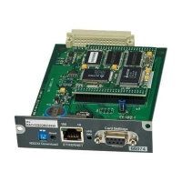 MGE SNMP/Web Card - Remote management adapter - 100Mb LAN, RS-232 - 100Base-TX - grey - for Eaton Upsilon STS; Comet 3000, S31; Galaxy 3000, 5000; MGE UPS Galaxy 4000, 5000