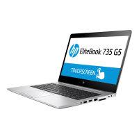 "HP EliteBook 735 G5   Laptop - Ryzen 5 2500U / 2 GHz - Win 10 Pro 64-bit - 4 GB RAM - 256 GB SSD NVMe - 13.3"" IPS 1920 x 1080 (Full HD) - AMD Radeon Vega - Wi-Fi, Bluetooth - kbd: UK"