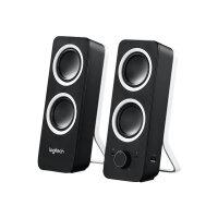 Logitech Z200 - Speakers - black
