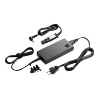 HP Slim Combo Adapter with USB - Power adapter - AC / car - AC 90-264 V - 90 Watt - United Kingdom - for HP 250 G4; Chromebook 14; EliteBook 2570, 725 G2, 745 G2, 755 G2, 820 G1, 820 G2, 840 G1