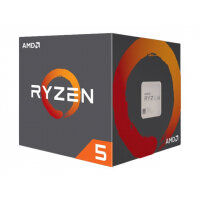 AMD Ryzen 5 1400 - 3.2 GHz - 4 cores - 8 threads - 10 MB cache - Socket AM4 - Box