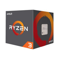 AMD Ryzen 3 1200 - 3.1 GHz - 4 cores - 4 threads - 8 MB cache - Socket AM4