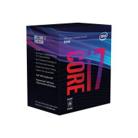 Intel Core i7 8700 - 3.2 GHz - 6-core - 12 threads - 12 MB cache - LGA1151 Socket - Box