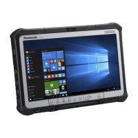 "Panasonic Toughbook CF-D1 - Tablet - Core i5 6300U / 2.4 GHz - Win 10 Pro - 4 GB RAM - 500 GB HDD - 13.3"" IPS touchscreen 1366 x 768 (HD) - HD Graphics 520 - Wi-Fi, Bluetooth - 4G - rugged"