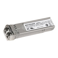 NETGEAR ProSafe AXM761 - SFP+ transceiver module - 10 GigE - 10GBase-SR - LC multi-mode - up to 300 m - 850 nm (pack of 10)