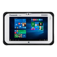 "Panasonic Toughpad FZ-M1 Value - Tablet - Atom x5 Z8550 / 1.44 GHz - Win 10 Pro - 4 GB RAM - 128 GB eMMC - 7"" IPS touchscreen 1280 x 800 - HD Graphics 400 - Wi-Fi, Bluetooth - rugged"