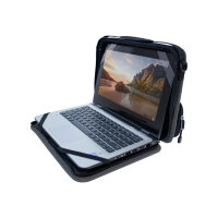 """OtterBox OtterShell Always-on Notebook Case With Pocket - Notebook carrying case - 11"""" - grey, black"""