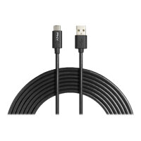 PNY - USB cable - USB Type A (M) to USB-C (M) - USB 2.0 - 3 m - black