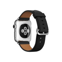Apple 38mm Classic Buckle - Watch strap - black - for Watch (38 mm)
