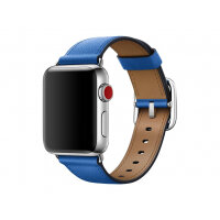 Apple 38mm Classic Buckle - Watch strap - 130-195 mm - electric blue