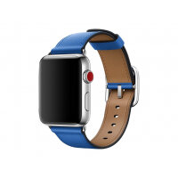 Apple 42mm Classic Buckle - Watch strap - 150-215 mm - electric blue