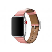Apple 42mm Classic Buckle - Watch strap - 150-215 mm - soft pink
