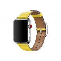 Apple 42mm Classic Buckle - Watch strap - 150-215 mm - spring yellow