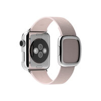 Apple 38mm Modern Buckle - Large - watch strap - soft pink - for Watch (38 mm)
