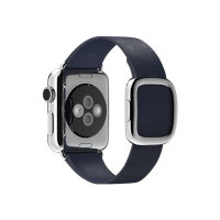 Apple 38mm Modern Buckle - Large - watch strap - midnight blue - for Watch (38 mm)