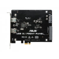 ASUS USB 3.1 FRONT PANEL - USB adapter - PCIe x4 - USB 3.1 x 2