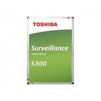 """Toshiba S300 Surveillance - Hard drive - 10 TB - internal - 3.5"""" - SATA 6Gb/s - 7200 rpm - buffer: 256 MB"""