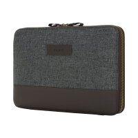 Incipio Esquire Series CARNABY ESSENTIAL - Protective sleeve for tablet - smooth leather - burgundy - for Microsoft Surface Pro (Mid 2017)