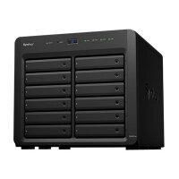 Synology Disk Station DS3617xs - NAS server - 12 bays - SATA 6Gb/s - RAID 0, 1, 5, 6, 10, JBOD, 5 hot spare, 6 hot spare, 10 hot spare, 1 hot spare - RAM 16 GB - Gigabit Ethernet - iSCSI