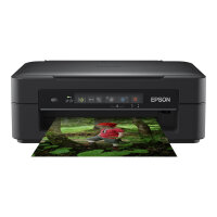 Epson Expression Home XP-255 - Multifunction printer - colour - ink-jet - A4/Legal (media) - up to 27 ppm (printing) - 50 sheets - USB, Wi-Fi - black