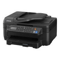 Epson WorkForce WF-2750DWF - Multifunction printer - colour - ink-jet - A4/Legal (media) - up to 33 ppm (printing) - 150 sheets - 33.6 Kbps - USB 2.0, Wi-Fi(n)