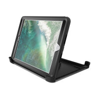 OtterBox Defender Series - Case for tablet - rugged - polyester, polycarbonate, synthetic rubber - black - for Apple 9.7-inch iPad (5th generation)