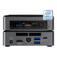 Vision VMP-7I3BNK - Digital signage player - Intel Core i3 - RAM 4 GB - SSD - 128 GB - Windows 10 IOT Enterprise 2016 LTSB