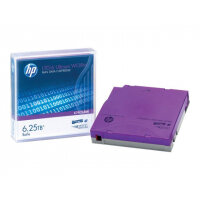 HPE - LTO Ultrium WORM 6 - 2.5 TB / 6.25 TB - write-on labels - purple - for StorageWorks SAS Rack-Mount Kit