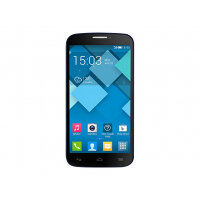 "Alcatel One Touch POP C7 7041D - Smartphone - dual-SIM - 3G - 4 GB - microSDHC slot - GSM - 5"" - 480 x 854 pixels - TFT - RAM 512 MB - 5 MP - Android - bluish black"
